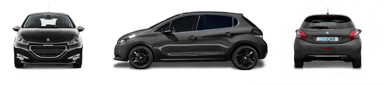 peugeot 208 location casablanca maarif