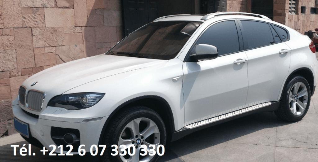 Location BMW X6 Agadir