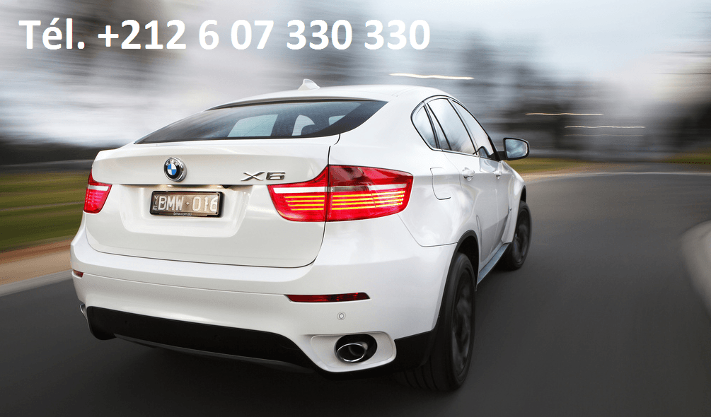 Location BMW X6 Casablanca