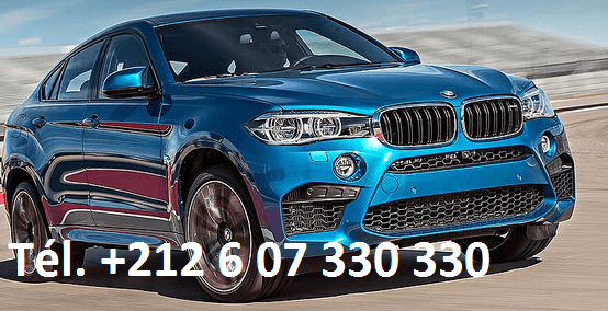 Location BMW X6 Marrakech