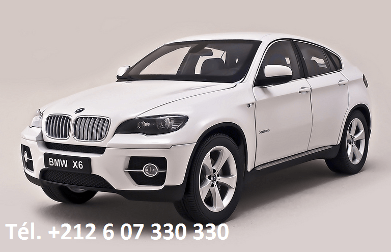 Location BMW X6 Tanger