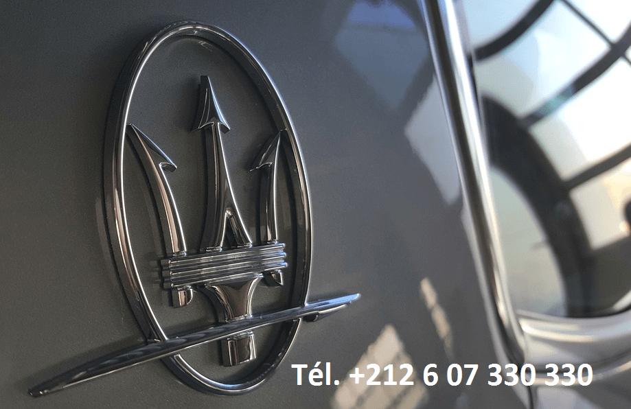 Location Maserati Ghibli Marrakech