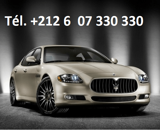 Location Maserati Quattroporte Casablanca
