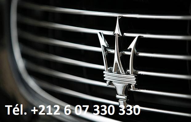 Location Maserati Quattroporte Marrakech