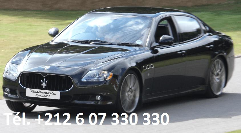 Location Maserati Quattroporte Rabat