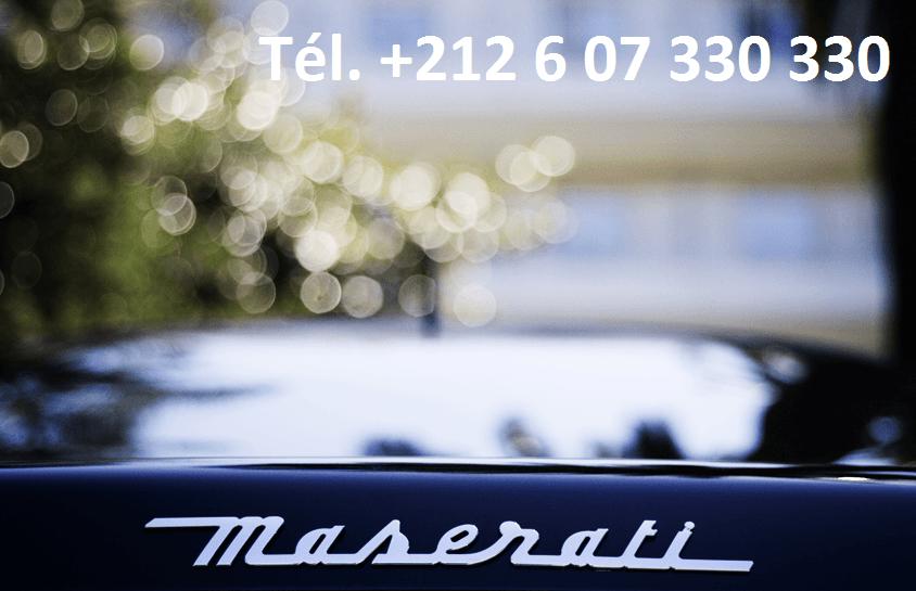 Location Maserati Quattroporte Tanger