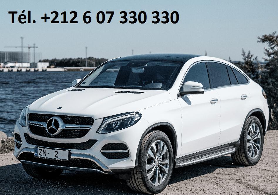 Location Mercedes GLE Agadir