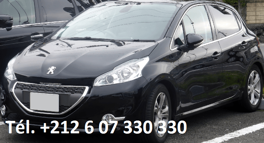 Location Peugeot 208 Marrakech