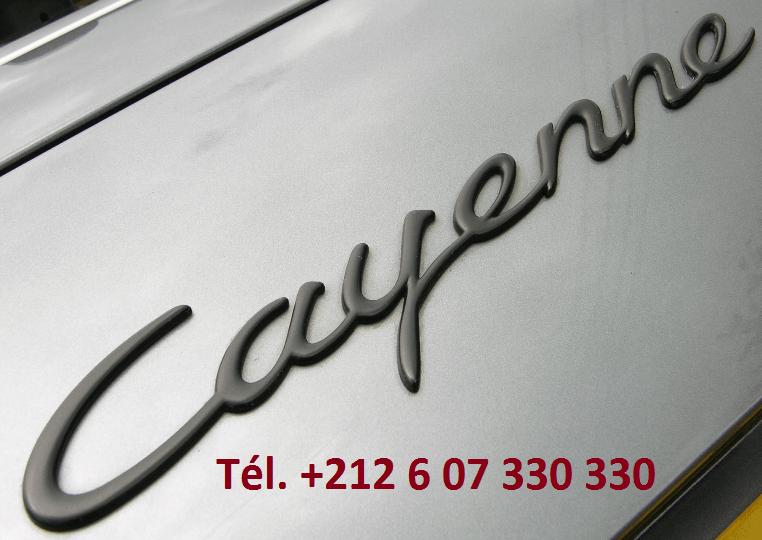 Location Porsche Cayenne Tanger