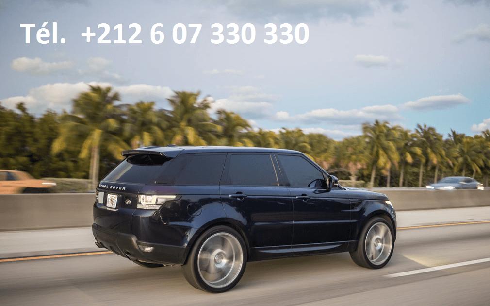 Location Range Rover Sport Tanger