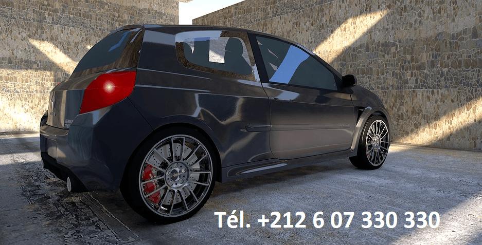 Location Renault Clio 4 Agadir