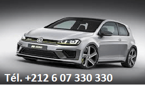 Location VW Golf 7 Agadir