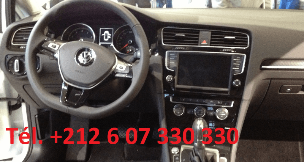 Location VW Golf 7 Rabat