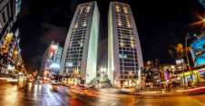 casablanca city center twin tower