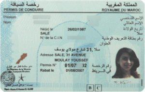 permis de conduire marocain